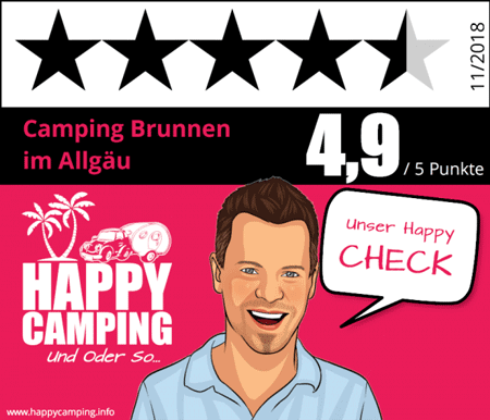 [Translate to English:] Siegel von Happy Camping